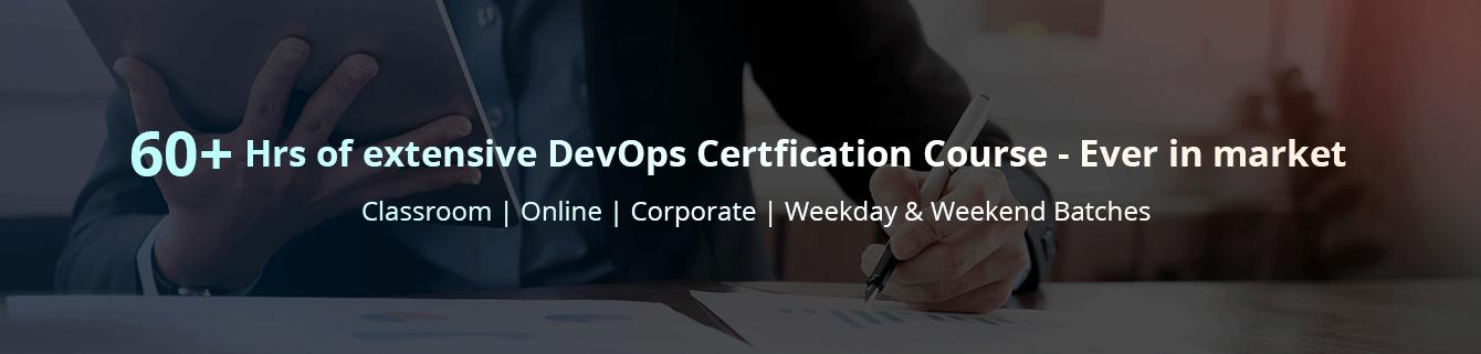 Online & Classroom DevOps Certification