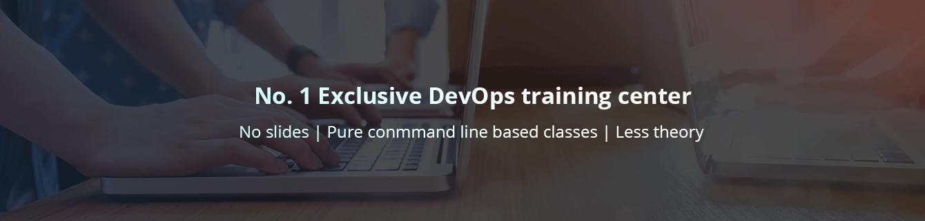 No. 1 Exclusive DevOps Training Center